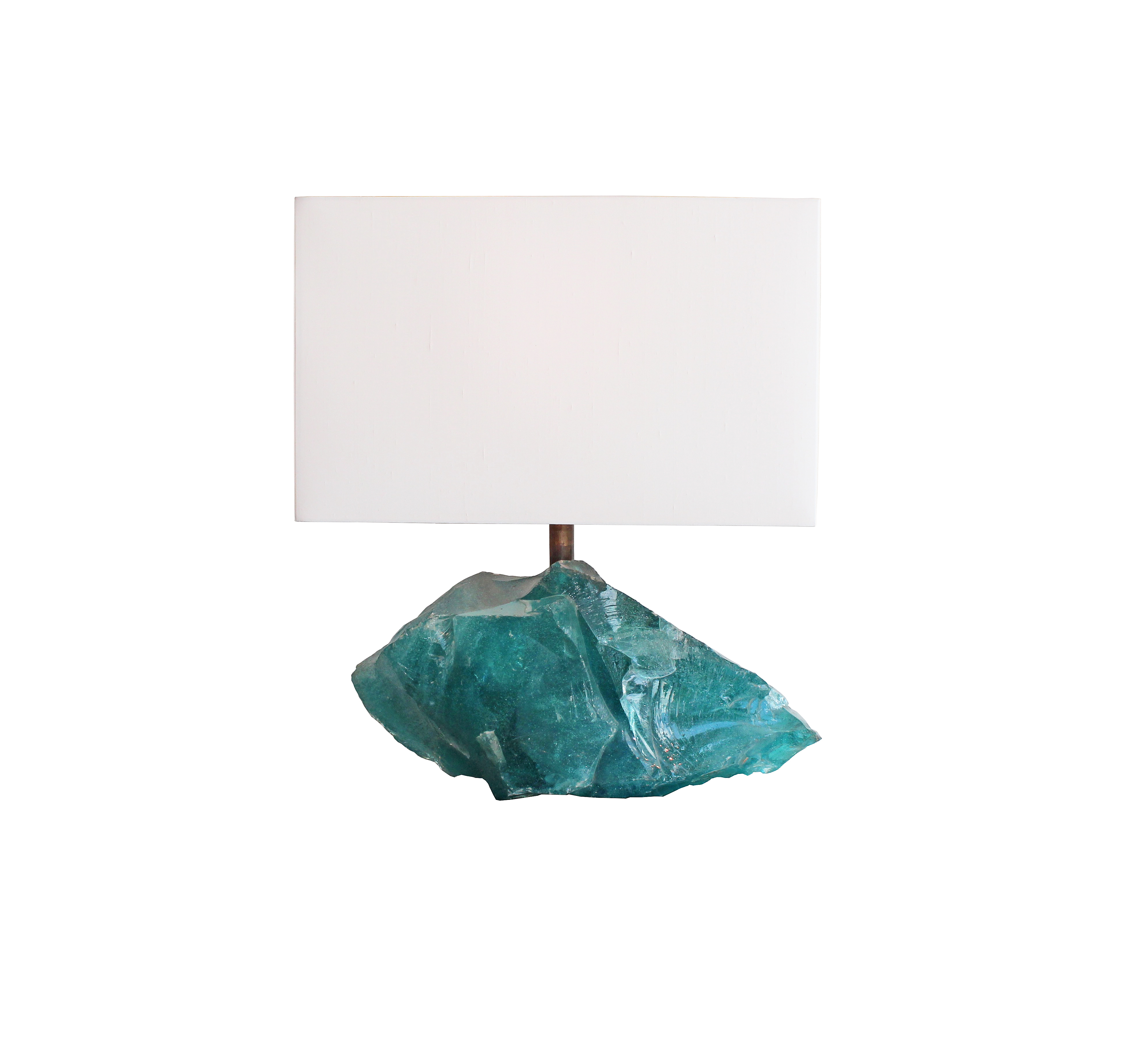 Glass Rock Table Lamp · 88 Gallery London | 86 88 Pimlico Road, SW1W 8PL  LONDON | +44(0)207 730 2728 | Powered By ArtSloution.